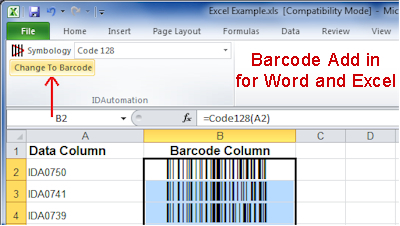 Download Barcode Addin for Word and Excel