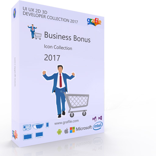 Business Bonus Icon Collection