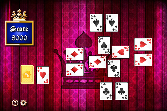 Captive Queens Solitaire