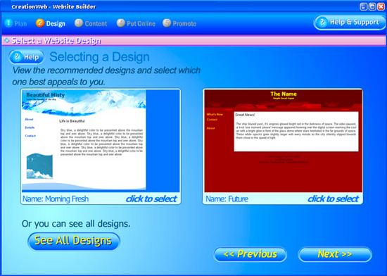 CreationWeb Business Edition