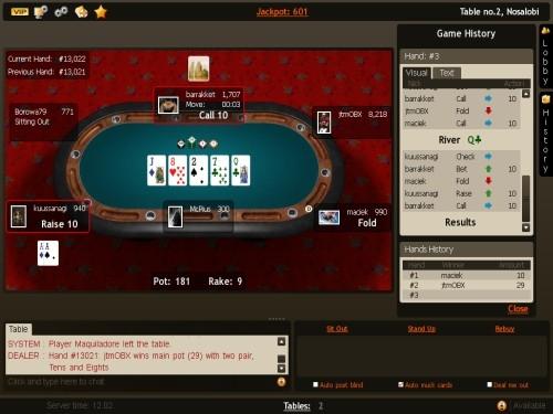 Poker practice game online