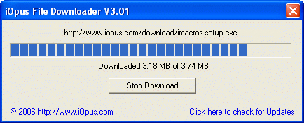 iOpus File and Website Downloader
