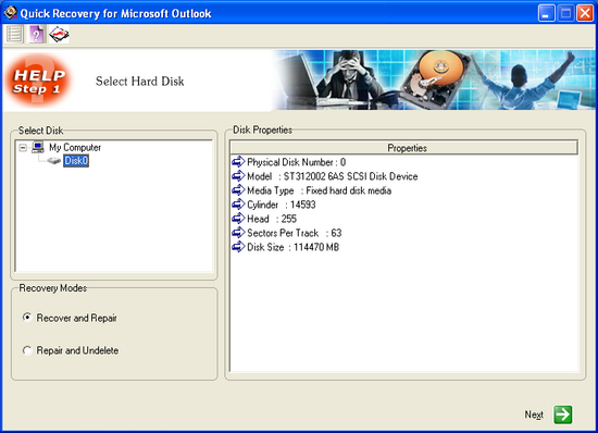 MS Outlook Data Recovery by Unistal