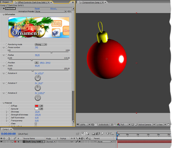 Ornament for AfterEffects Mac