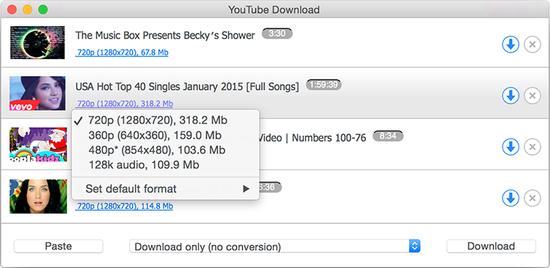 Youtube download mac
