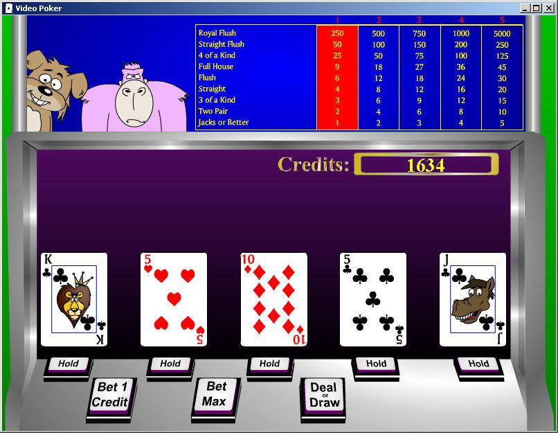 Free ware strip poker