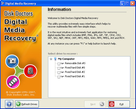 Best Free Media Recovery Software