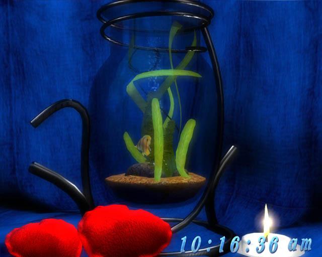 fish tank wallpaper. Dream aquarium 3d screensaver