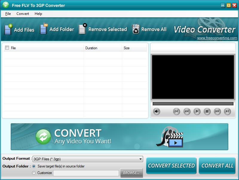 FLV to 3GP Converter - Download