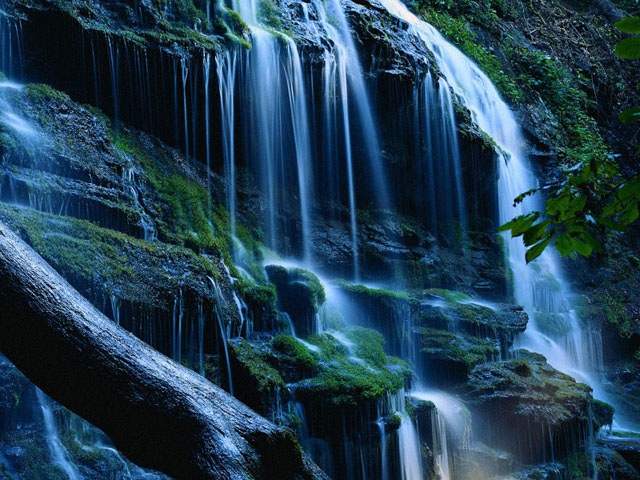 Download Free Living Waterfall
