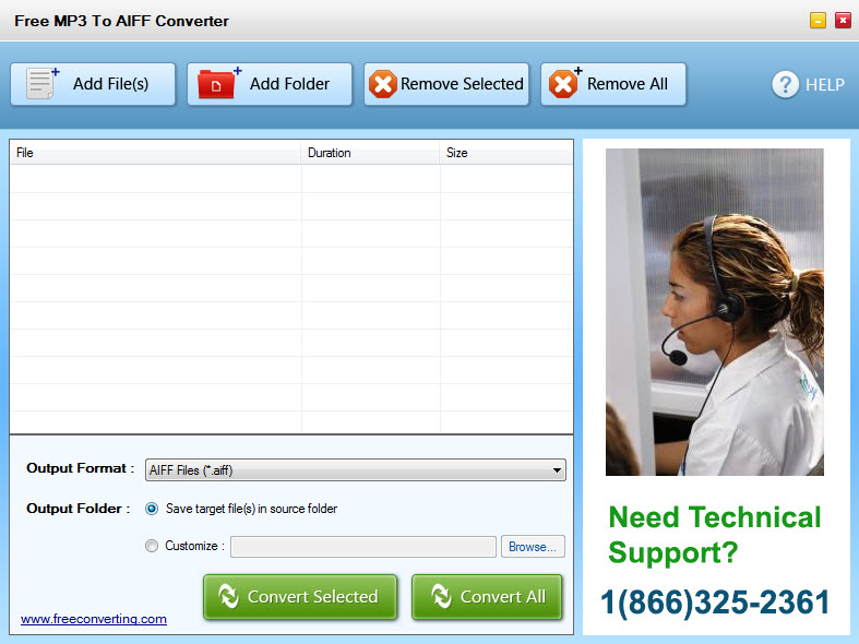 Convert AIFF to MP3 for free every time │ AIFF Converter