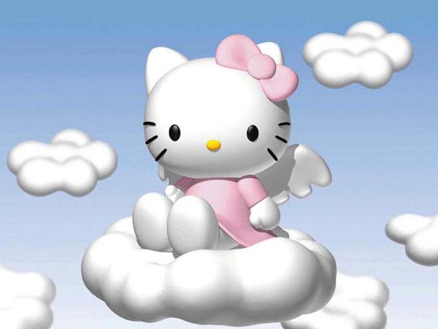 Hello Kitty Cartoon Screensaver image preview