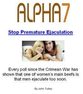 Premature ejaculation viagra