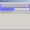 Password Recovery for Corel Paradox