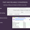 To M4A Converter Free for Mac